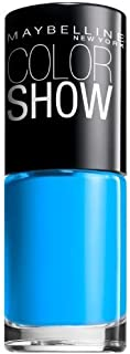 Maybelline New York Color Show Nail Lacquer, Shocking Seas, 0.23 Fluid Ounce (Pack of 2)