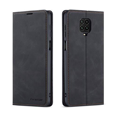 Fundas Xiaomi For Xiaomi redmi Nota 9S / Nota de 9 Pro / Nota 9 del cuero del tirón Magnetismo Horizontal Pro Max sueño de la serie de aceite Borde fuerte con el sostenedor y ranuras for tarjetas y mo