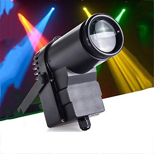 Warm LED Pinspot Lamp Stage Effect Light String Spotlight LED Light LED Spotlight Track Light Sound Activity DMX512 for KTV Bar Club Party DJ Lighting Romantic