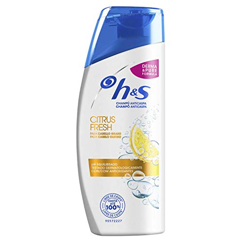 H&S Citrus Fresh Anticaspa Champú 90 ml