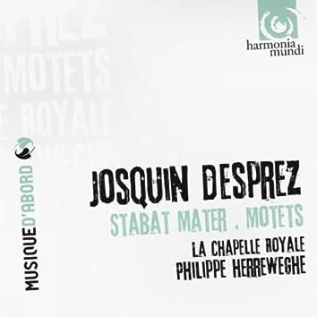 Josquin Desprez: Stabat Mater, Motets