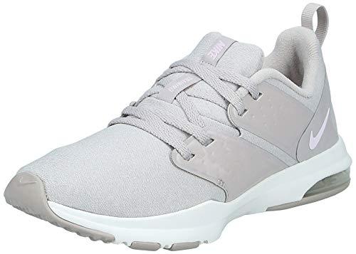 Nike Women's Air Bella TR Training Shoes Moon Particle/Pink Foam-Sail (6)
