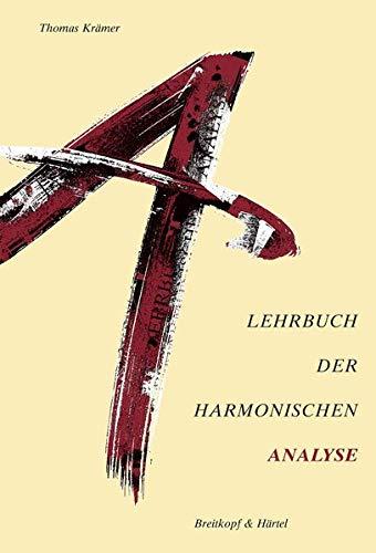 Lehrbuch der harmonischen Analyse (BV 305)