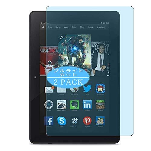 "VacFun 2 Piezas Filtro Luz Azul Protector de Pantalla, compatible con Amazon Kindle Fire HDX 7.0"", Screen Protector Película Protectora(Not Cristal Templado) NEW Version"