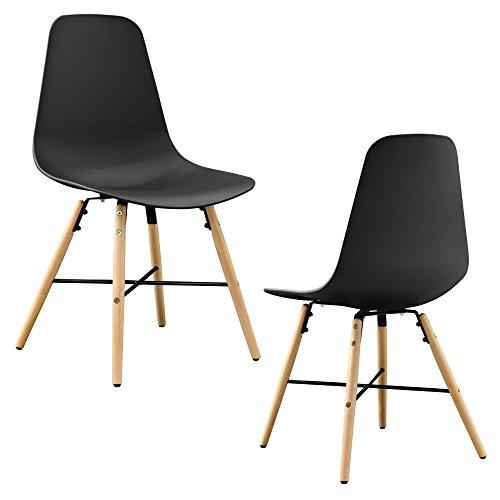 Set de 2 sillas de comedor