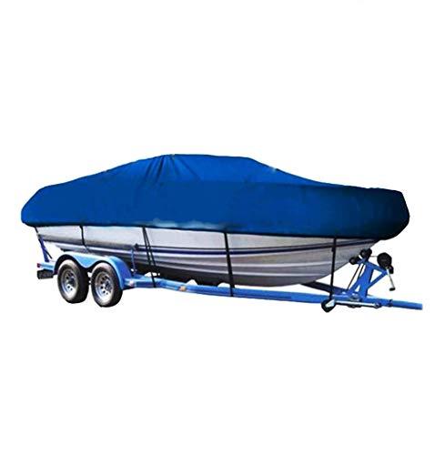 CL* Housse de protection anti-poussière pour bateau Protection UV Accessoires imperméables Costume de bateau en forme de V 300D Housse en polyester enduit de PVC recouvert de yacht (taille 4) Couvercl