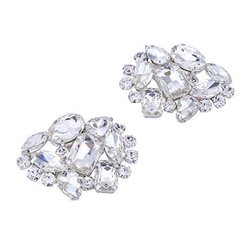 Accesorio decorativo con clip y brillantes diamantes de imitación de Santfe, ideal...