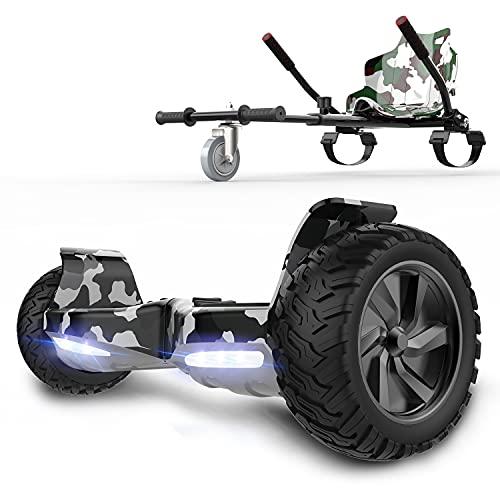 RCB hoverboards SUV Scooter Eléctrico Patinete Auto-Equilibrio Todo Terreno 8.5