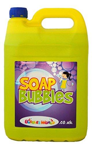 5 Liter Seifenblasenflüssigkeit, für Riesenseifenblasen und normale Seifenblasen