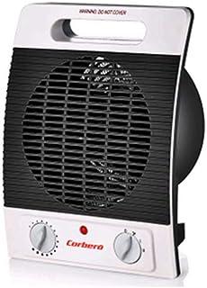 CORBERO 1103150001 Calefactor CCFTM2000N Vertical 2000Wq, Negro