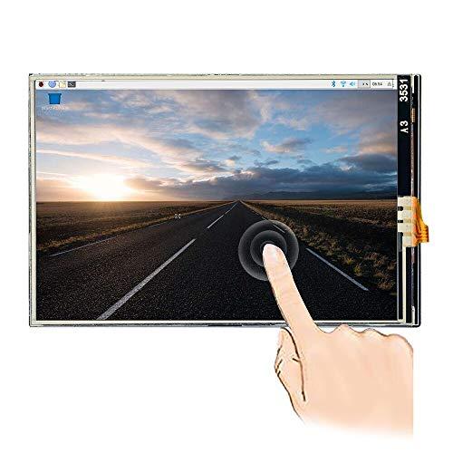 OSOYOO(オソヨー) Raspberry Pi 専用 ラズパイ4 LCD タッチ スクリーン  3.5インチ ディスプレイ  128M SPI モニター