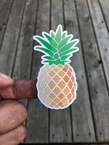Pineapple Sticker, Laptop Sticker, Water Bottle Sticker, Phone sticker, Window Sticker, Tropical Sticker, Funny Sticker, Food Sticker