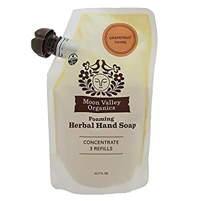 Grapefruit Thyme Herbal Hand Soap 10.7 Oz - Pack of 3