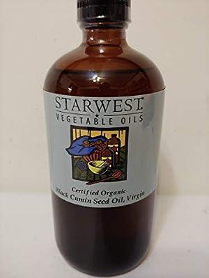 Black Cumin Seed Oil Virgin Certified Organic Starwest Botanicals