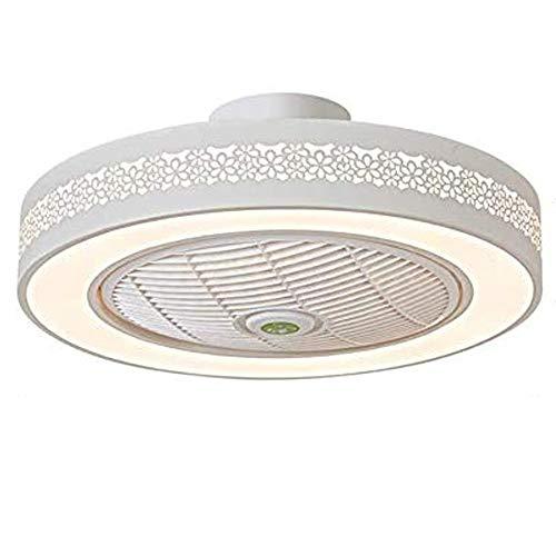 LED Fan Deckenventilator Moderne Deckenleuchte Mit Fernbedienung Leise Fan Licht Schlafzimmer Lampe Wohnzimmer Kindergarten Kinderzimmer Timing Ventilator Deckenlampe Beleuchtung Pendelleuchte (9#)