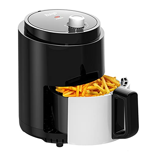Air Fryer, Premium 2.3QT Electric-Hot Air-Fryer Oil-less healthy Fryer Pot with Timer Controls and Non Stick Basket, PFOA/PTFE Free, 900-Watts, Black