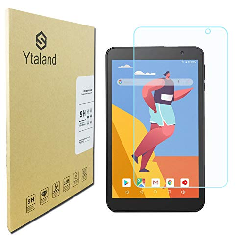 Ytaland Glass Screen Protector for VANKYO MatrixPad S8 Tablet 8 inch, Anti-Fingerprints Bubble-Free Tempered Glass Screen Protector Film Cover