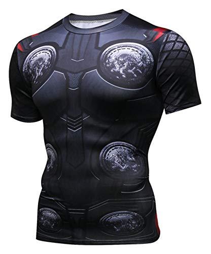 Pizoff Herren Gym 3D Druck Fitness Stringer Trainingsshirt Muskelshirt, Ac109-05, XXL