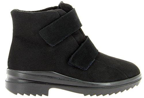 Florett Damenschuhe 46311-60 Damen Stiefelette, wasserdichte Boots, schwarz, EU 39