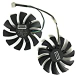 GPU Cooler Alternative Graphics Card Fan for Sparkle RX570 4G D5 YESTON P106 GTX 1060-6G D5 GA RX 480 4G D5 GA Cards Replacement