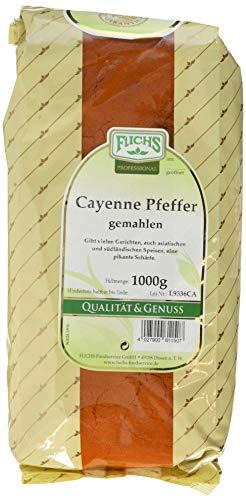 Fuchs Cayenne Pfeffer / Chili gemahlen (1 x 1 kg)