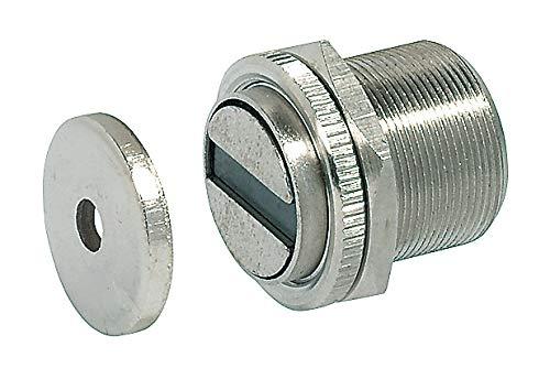 GedoTec® Magnet-Schnäpper Magnetverschluss für Metalltüren & Metallschränke | Haftkraft 7 kg | Möbel-Magnet extra stark inkl. Gegenplatte | 1 Stück - Tür-Magnet für Zimmertüren - Spinte - Möbel-Türen