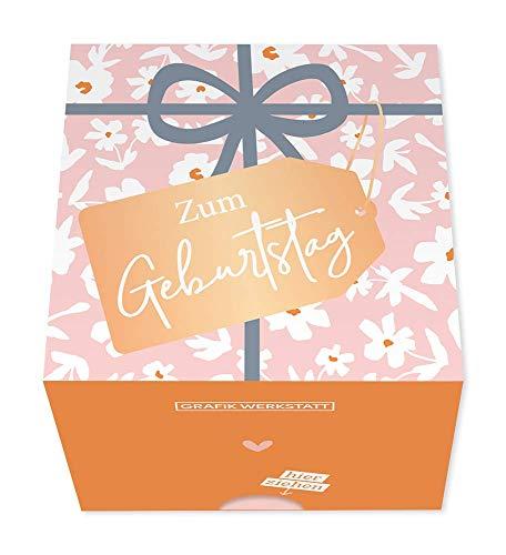 Grafik Werkstatt Message in a Box   Geschenkidee   30 Kärtchen zum abreissen   Geburtstag