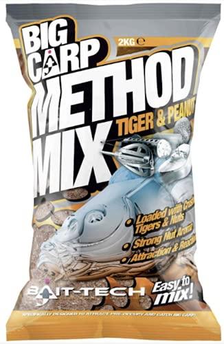 Big Carp Method Mix Tiger and Peanut 2kg