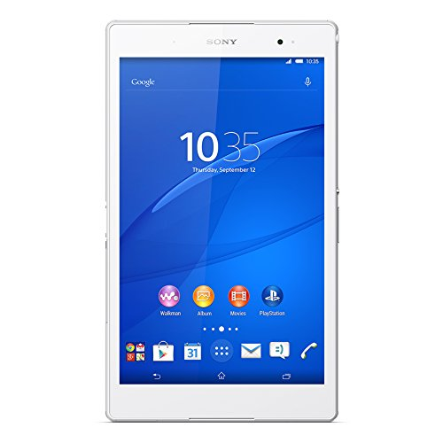Sony Xperia Z3 Compact Tablet Qualcomm Snapdragon 801 16 GB Weiß - Tablets (20,3 cm (8 Zoll), 1920 x 1200 Pixel, 16 GB, 3 GB, Android, Weiß)