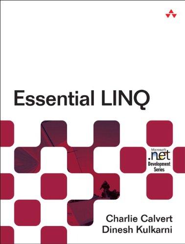 Essential LINQ (Microsoft Windows Development Series) (English Edition)