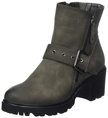 bugatti Damen 431576305900 Stiefeletten, Grau (Dark Grey 1100), 40 EU