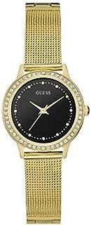 ساعة كوارتز للنساء من جيه بي دابليو شاشة انالوج وسوار ستانلس ستيل - W0647L8