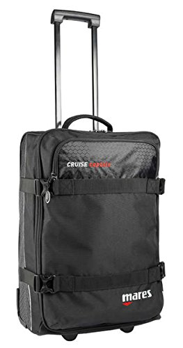 Mares Cruise Captain Suitcase - Black/Black