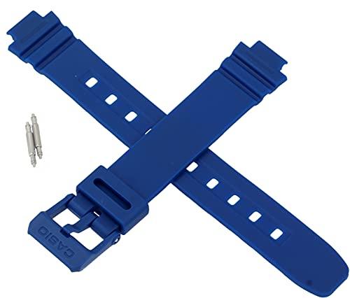Correa de reloj Casio genuina para LA-20WH-4A1 LA 20WH 20W 20 AZUL 10554197