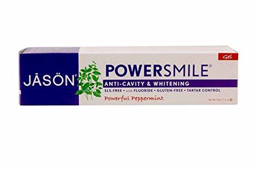 Flouride Gel - Power Smile Plus Coq10, 6 Oz, Pack of 2 by Jason Natural