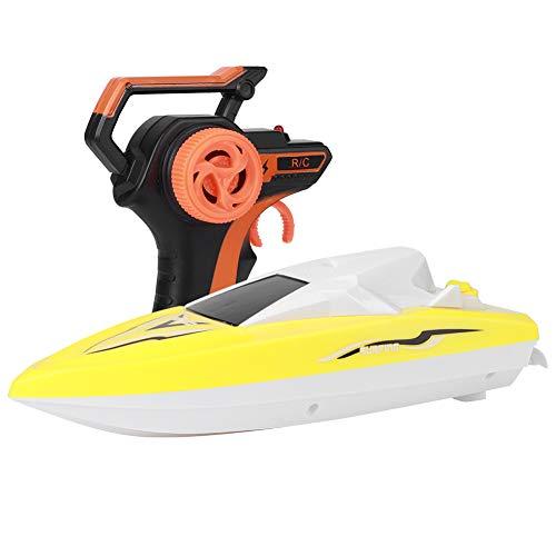 01 Mini Barco Que compite con teledirigido 2.4G, Barco eléctrico Impermeable de...
