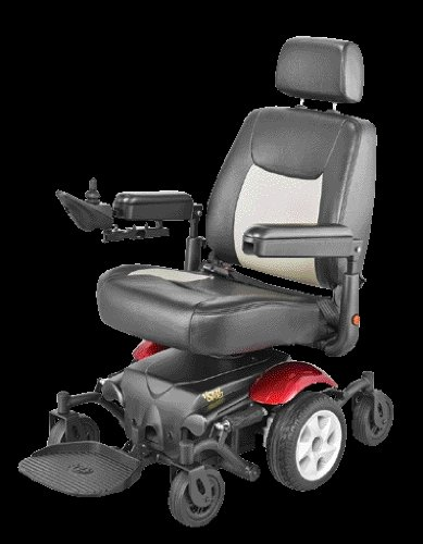 Vision Sport Mid-Wheel Drive Power Wheelchair