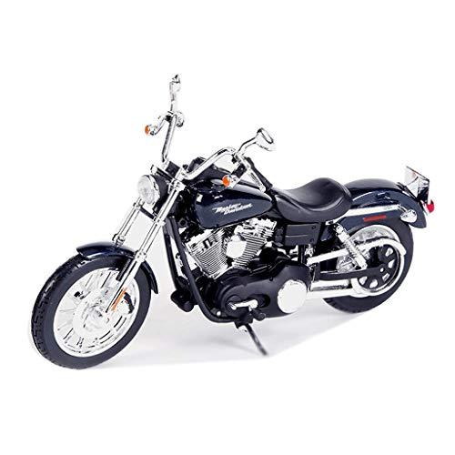 JIALI Automodell kompatibel mit Harley-Davidson 1:12 Legierung Motorrad Modell Simulation Druckguss Auto Modell...
