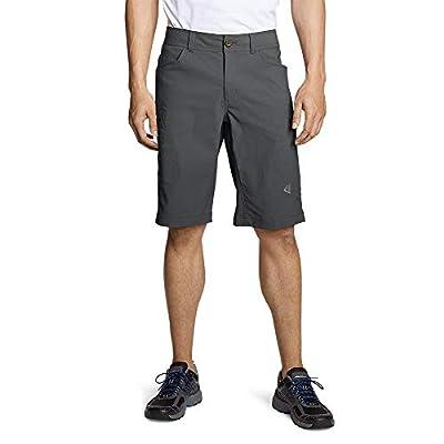 Eddie Bauer Men's Guide Pro Shorts, Dk Smoke Regular 40