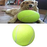 犬用ボールペットの犬の子犬テニスボールスローイングチャッカーランチャープレイグッズ 直径24cm