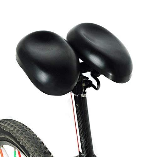 WZ YDTH Fahrradsattel,Cityrad Rennrad MTB Sattel, Memory Schaum Hohl Fahrrad Sattel,Nasenlos verstellbare Fahrradsättel Gepolsterter Multifunktions-Easyseat
