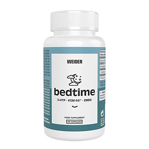 Weider Nutrition Bedtime 60 capsulas que te ayudan a dormir mejor. Si lo que necesitas es descansar este es tu producto