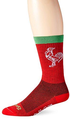 SockGuy Sriracha Wool Crew Sock One Color, S/M - Men's