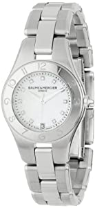 Baume & Mercier Women's 10011 Linea Mother-of-Pearl Diamond Dial Watch image