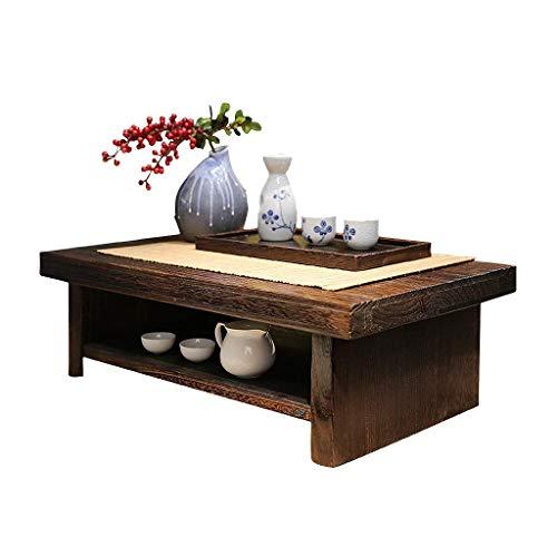 RCLD Couchtische Chinesischer Tee Tabelle Einfache Paulownia Kreative taiwanesischen Fenster Tami Gartenmöbel Holz (Size : 68 * 35 * 20cm)