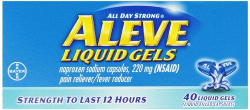 Aleve Liquid Gels, 220 mg, 40 Count
