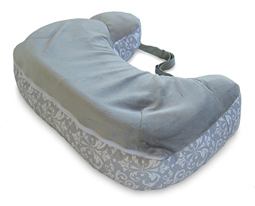Boppy Best Latch Breastfeeding Pillow, Kensington Gray,...