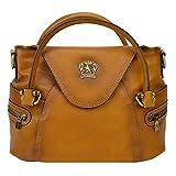 Pratesi Rincine leather bag - B506 Bruce (Cognac)