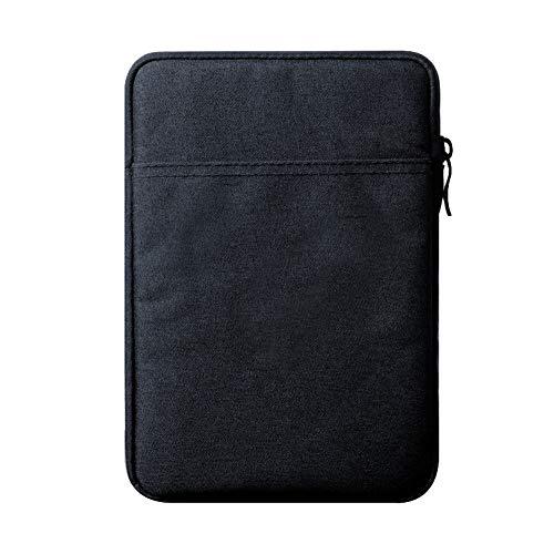 Funda Protectora para iPad Pro 10.5, Bolsa de Poliéster con Bolsillo para 9,7-10,5 Pulgadas de iPad Pro/New iPad 2017/iPad Air 2/Air/iPad 1/2/3/4,Armada