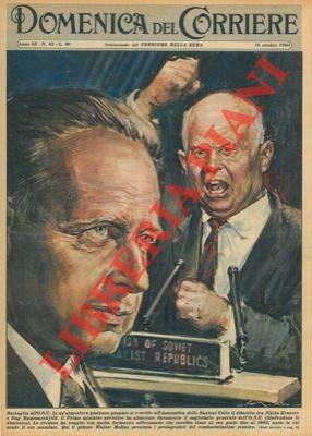 In un'atmosfera pesante si e svolto all'Assemblea delle Nazioni Unite il dibattito tra Kruscev e Hammarskjold.